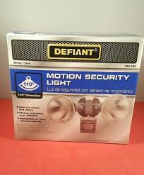 defiant led motion security light manual defiant motion security light troubleshooting white outdoor led
