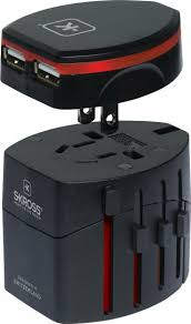 Massachusetts travel adaptor images Skross world travel adapter 2 with dual usb charger jpg
