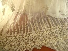 Antique Lace Curtains Antique Lace Curtains Ivory Lace Fabric Embroidered Tulle Lace