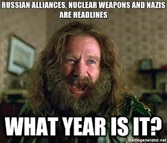 Generate Meme Online - in bed with russia nuclear weapons charlottesville advice