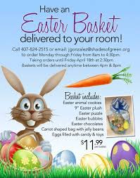 easter basket delivery news shades of green resort april food events the disney food