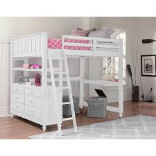 NE Kids Lake House Full Loft Bed  On Sale Now The - Ne kids bunk beds