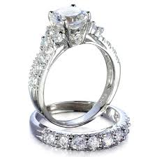 wedding ring sets for s fancy faux cz wedding ring set jewelry box