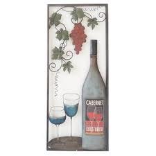 Wine Glass Wall Decor Wine Barrel Wall Decor Wayfair