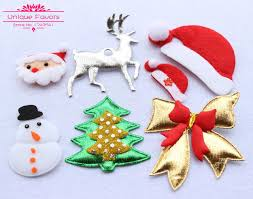 christmas applique aliexpress buy 30 pcs lovely fabric christmas ornaments