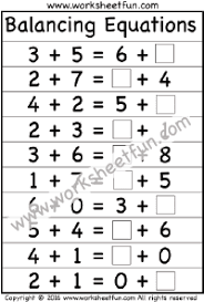 balancing equations free printable worksheets u2013 worksheetfun