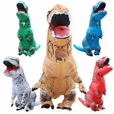 inflatable dinosaur t rex costume blow up dinosaur halloween