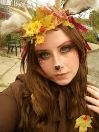Deer Halloween Costumes 71 Satyr Faun Fawn Deer Makeup Images