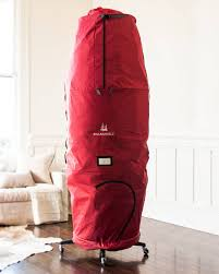 upright tree storage bag centerpiece ideas