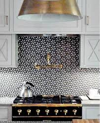 CornuFe French Range Black And Gold And Walker Zanger Sonja La - Walker zanger backsplash
