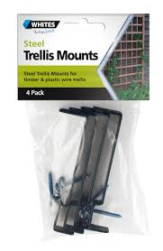 accessories steel trellis mounts
