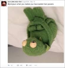 Sad Spider Meme - twitter turns sad kermit into wise and reflective kermit 27 photos