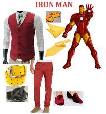 Halloween Costumes Iron Man Men U0027s Halloween Costume Avengers Masquerade Average Chap