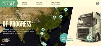 volvo trucks singapore volvo trucks and national geographic rolls out 360 degree campaign