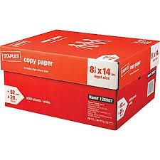 paper ream box staples copy paper 8 1 2 x 14 staples