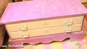 Bench Toybox Pink Distressed Toy Box Bench Distressed Furniture For Sale