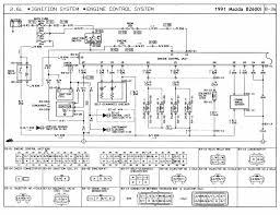 1991 mazda b2600i wiring diagram ignition system coil igniter