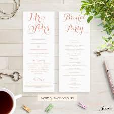 Order Wedding Ceremony Program 7 Best Order Of Service Images On Pinterest Wedding Order Of