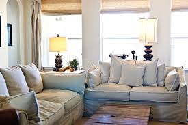 Grey Slipcover Sofa by White Sofa Slipcover Modern Camelback Sofa Slipcovers Sure Fit