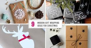 modern christmas wrapping paper 9 modern gift wrapping ideas for christmas contemporist