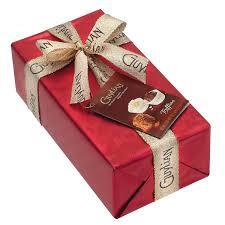 gift wrapped boxes la trufflina gift wrapped ballotin 180g guylian belgian chocolates