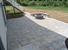 Paver Patio Landscaping Virginia Brick Paver Patio Backyard Stafford Nursery