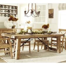 Pottery Barn Benchwright Reclaimed Wood Extending Dining Tab - Pottery barn dining room set