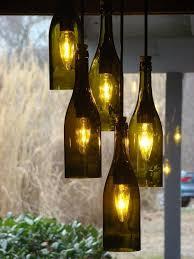 how to make a wine bottle l wine bottle lighting wine bottle light fixture best 25 chandelier