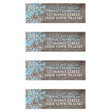 i wanted to with you these rustic winter wood blue snowflake