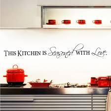 citation sur la cuisine la cuisine est assaisonnée avec amour citation cuisine stickers