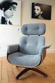 blue lamb furnishings plycraft lounge chair sold