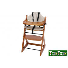 European High Chair by Tikk Tokk Royal High Chair Teak