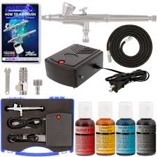master airbrush cake decorating airbrush kit with 24