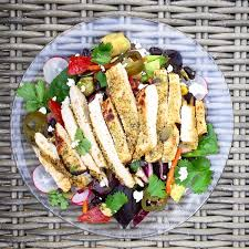 mexican turkey salad with avocado beans u0026 chipotle dressing