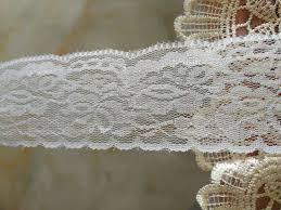wide lace ribbon wholesale pretty soft white lace ribbon 10 yards 5cm wide