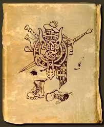 impressive scottish tattoo design by levaleur
