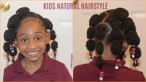 parting hair when braiding a ball kids natural hairstyles rubberband puff balls easy quick girls