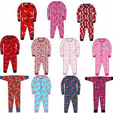 boys jersey all in one character childrens pyjamas 3 10