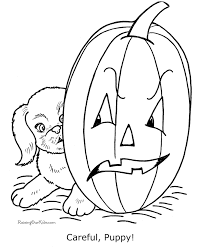 coloring pages stunning halloween dog coloring cute pages