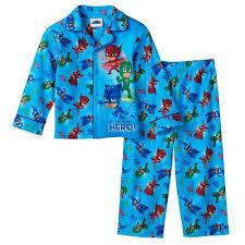 pj masks boys flannel coat style pajamas 21pj000ecl 2t ebay