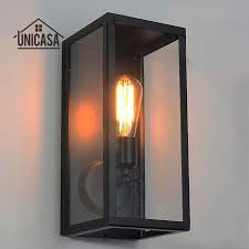 Antique Wall Sconces Black Indoor Wall Lights Kitchen Lobby Bathroom Antique Wall