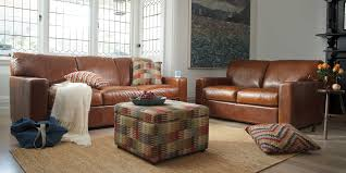 Estate Leather Sofas  Seater   Seater Sofa Plush Furniture - Hickory leather sofa