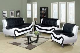Black Chair And A Half Design Ideas Black And White Living Room Furniture Acrylic Coffee Table Wall