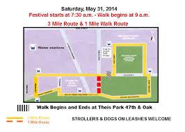 kansas walk in map kansas city walk kc race day