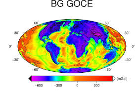 Isoline Map Definition Global Gravity Maps In Support To Geothermal Energy Sourcing