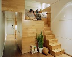 Stairs In House by Interior Stairs In A Bedroom Apartment Wood Leveled Bedroom