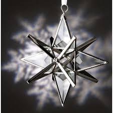 beveled glass moravian ornament