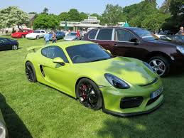 porsche cayman green spotted sort of porsche related