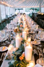 Table Decorations For Wedding by Best 10 Square Wedding Tables Ideas On Pinterest Gold Candles