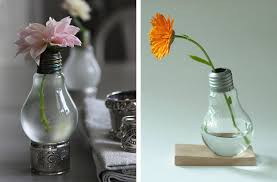 Creative Vases Ideas Creative Idea Recycled Old Light Bulbs Vases Get Inspired By
